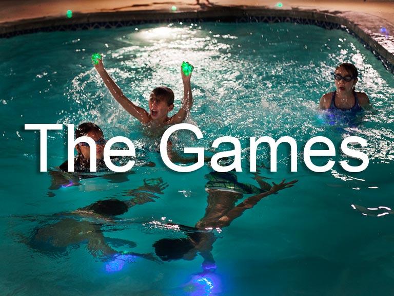 Swimming pool games 2018 glow in the dark swimming games - Glow in the dark swimming pool toys ...