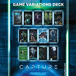 12 GAME VARIATION CARDS