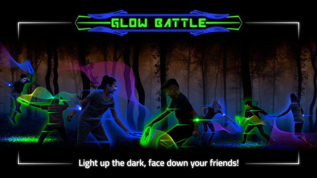 Glow Battle glow in the dark lightsaber game