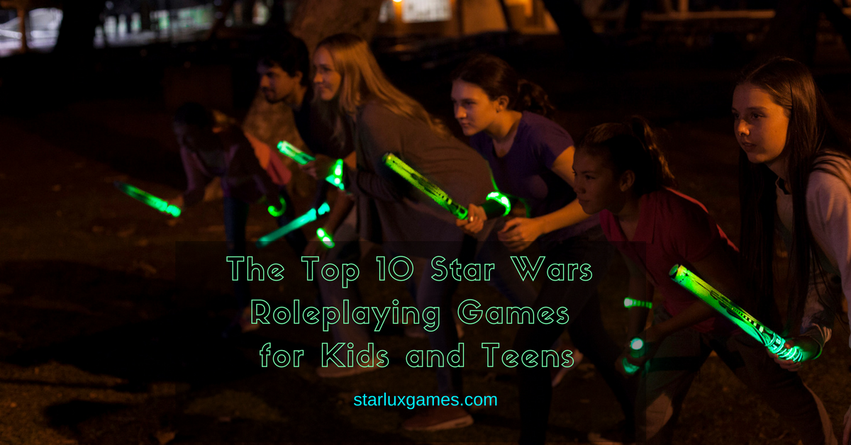 Star Wars roleplaying games for kids and teens