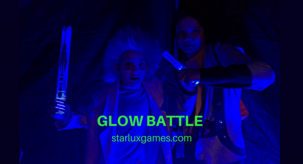 GLOW BATTLE Neon Game for kids and teens