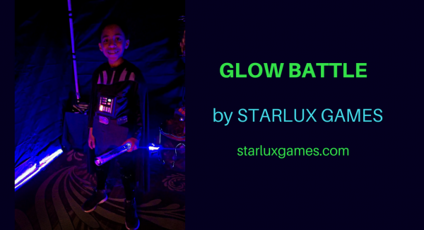 GLOW BATTLE glow in the dark game by Starlux Games