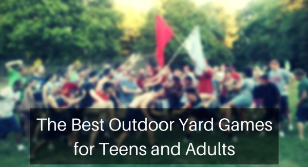 outdoor yard games for teens and adults