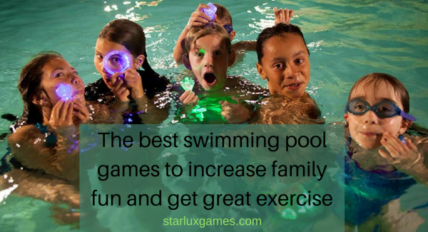 the best swimming pool games