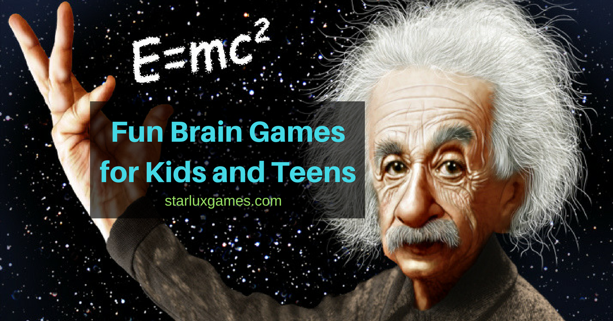 Fun Brain Games for Kids and Teens