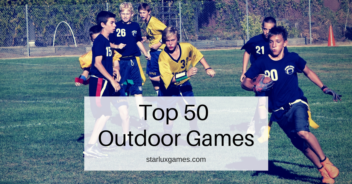 Top 50 Best Outdoor Games List