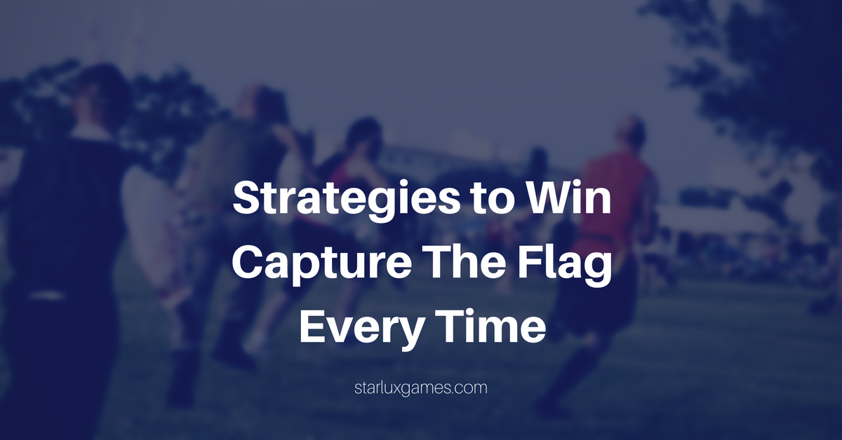 capture the flag game strategies for winning every time