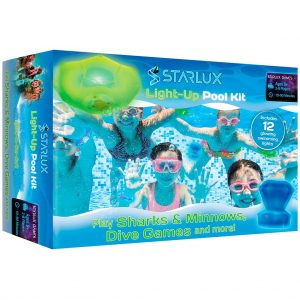 The Starlux Games Light-Up Pool Kit game box.