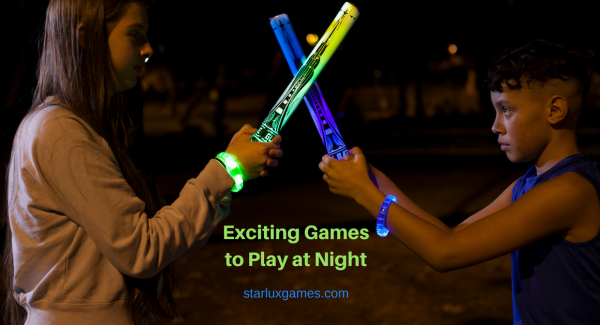 Games to play at night