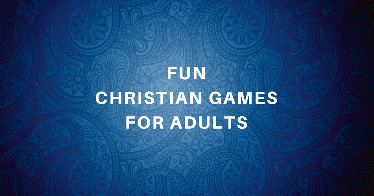 fun christian games for adults