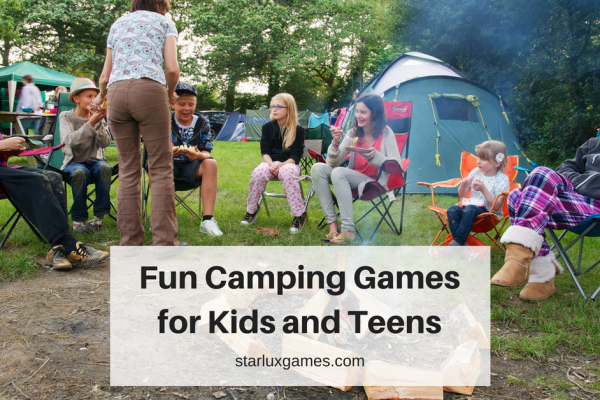 Fun Camping Games for Kids and Teens