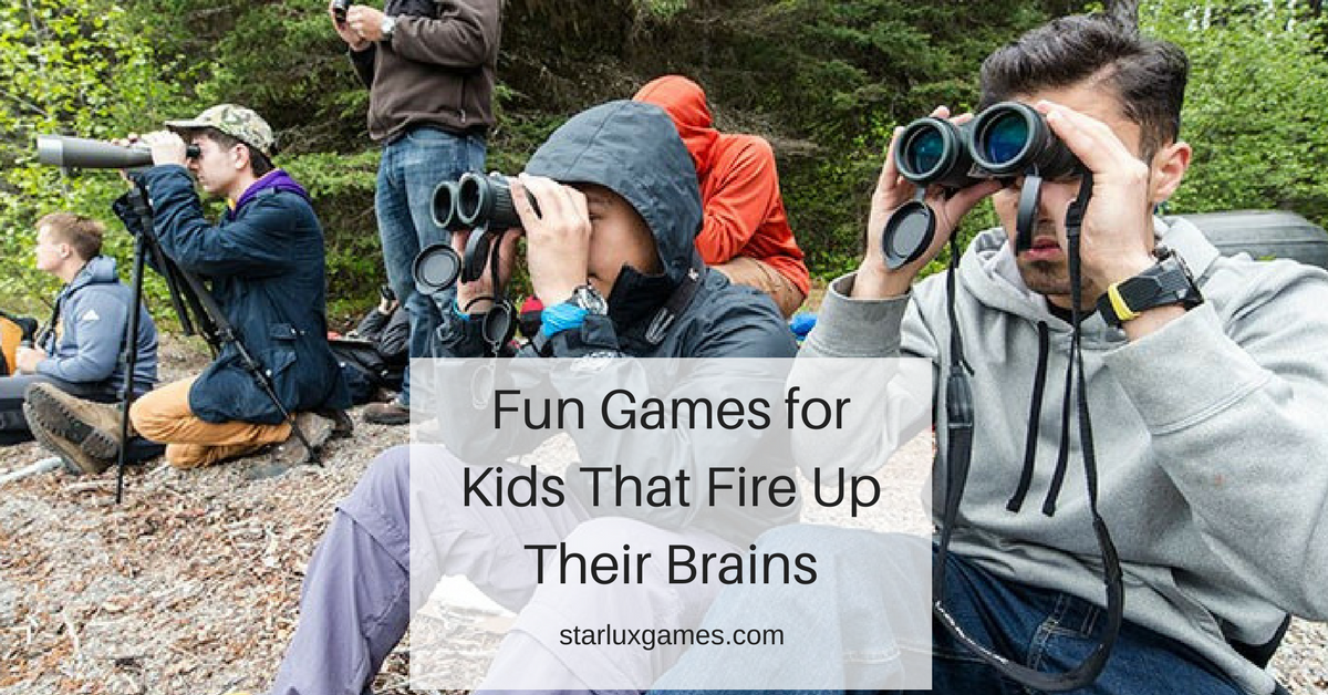 fun games for kids that fire up their brains