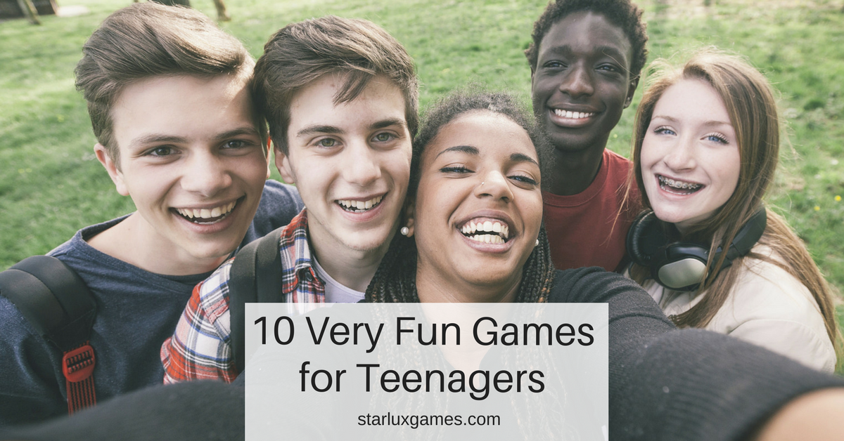 10 very fun games for teenagers