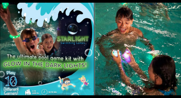 how to play Starlight Swimming Games