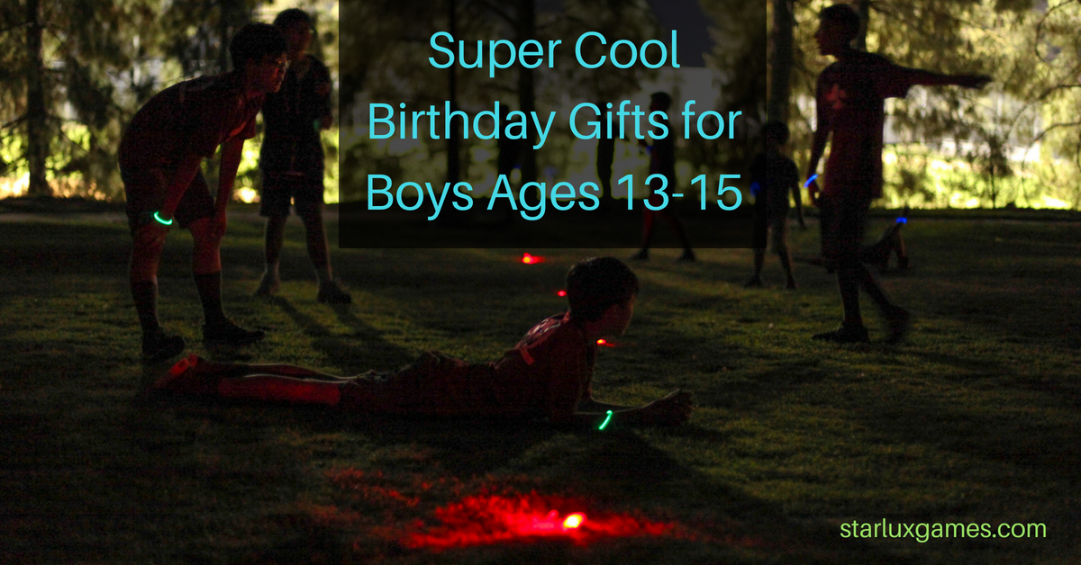 birthday gifts for boys ages 13-15