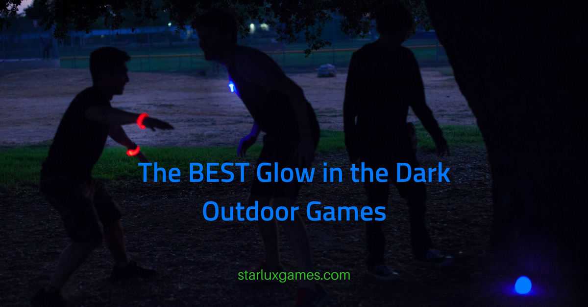 glow in the dark outdoor games