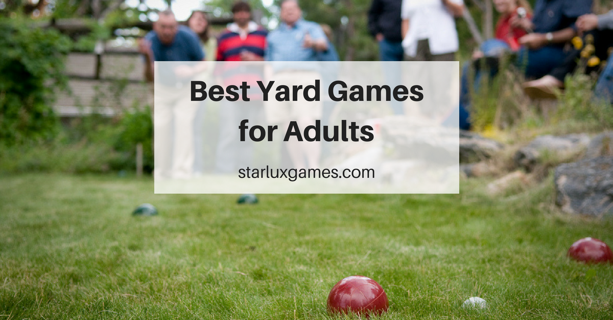 best yard games for adults