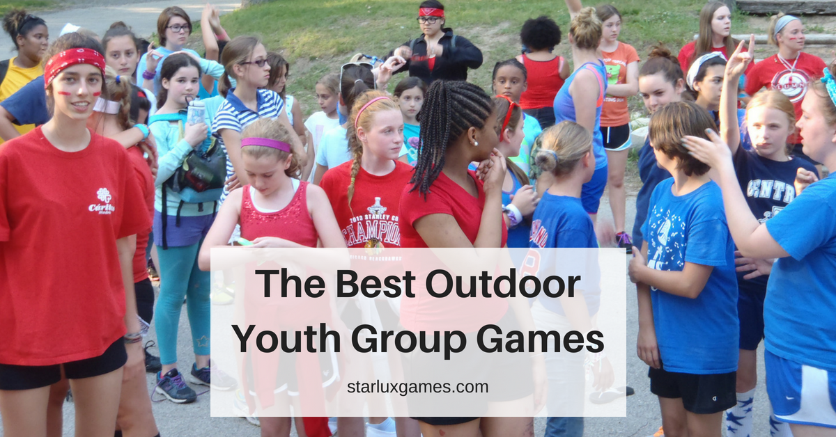 The Best Outdoor Youth Group Games