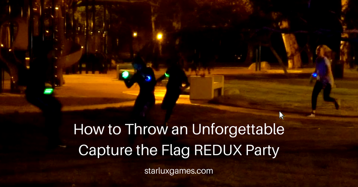 capture the flag redux party