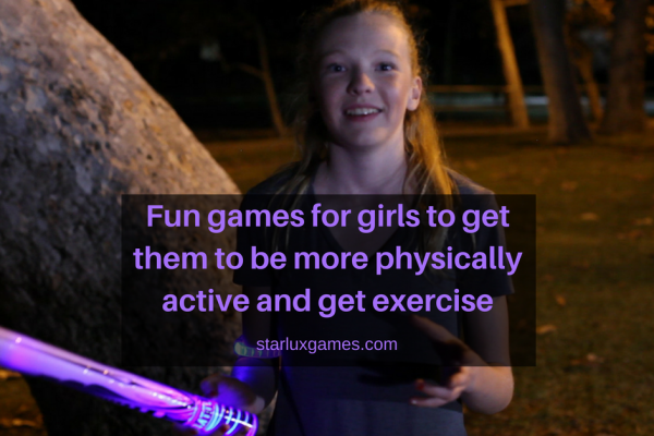 fun games for girls for exercise