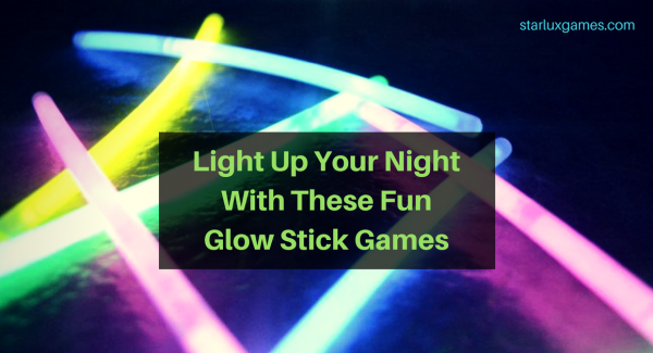 fun glow stick games
