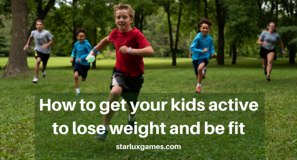 how to get kids active