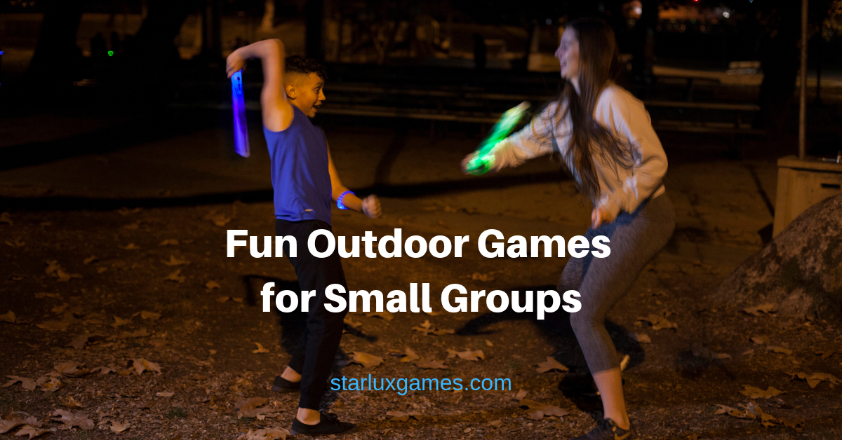 outdoor games for small groups