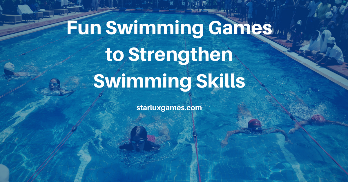 swimming games to strengthen swimming skills