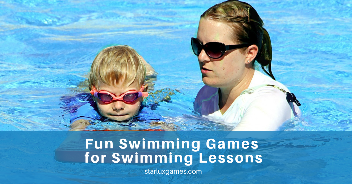 swimming games for swimming lessons