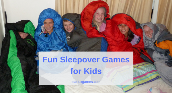 fun sleepover games for kids