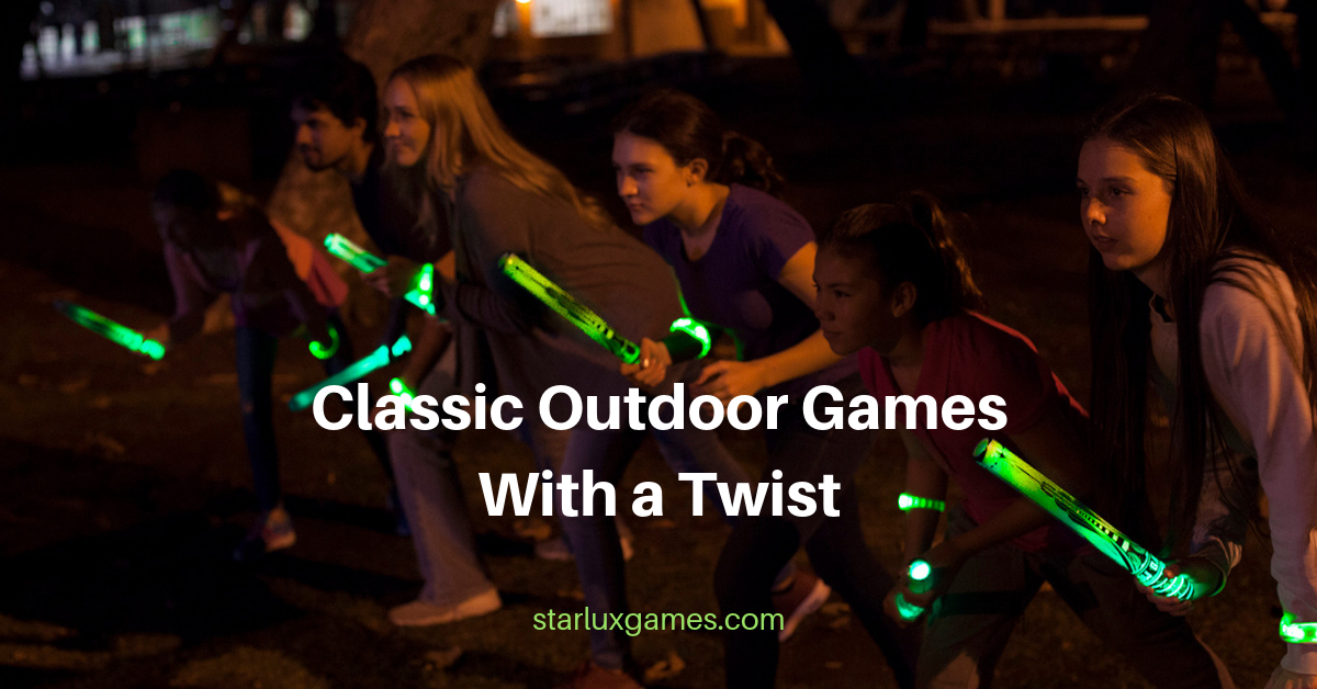 classic outdoor games with a twist