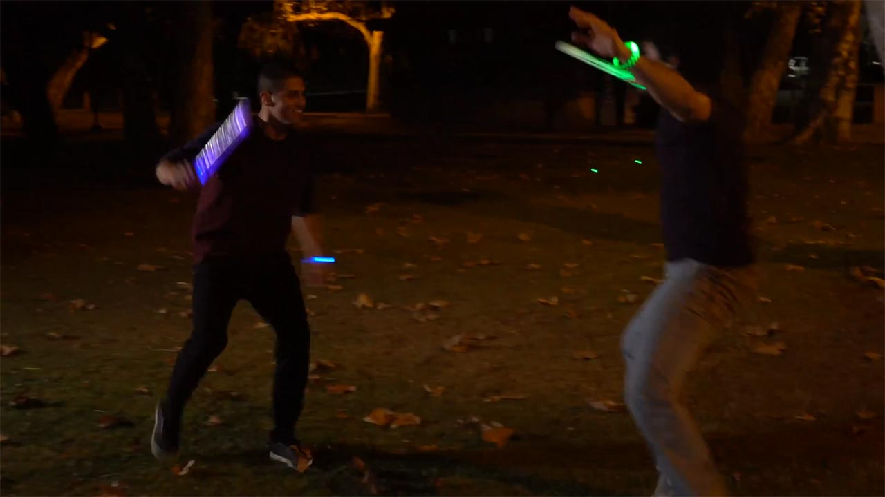 Glow Battle Video
