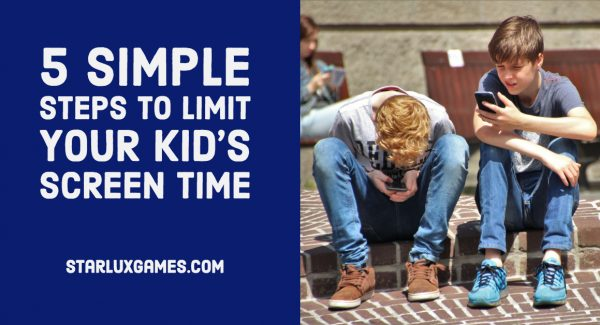 5 Simple Steps to Limit Your Kid's Screen Time