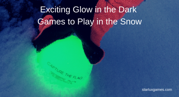 Exciting glow in the dark games to play in the snow