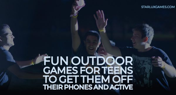 Fun Outdoor Games for Teens