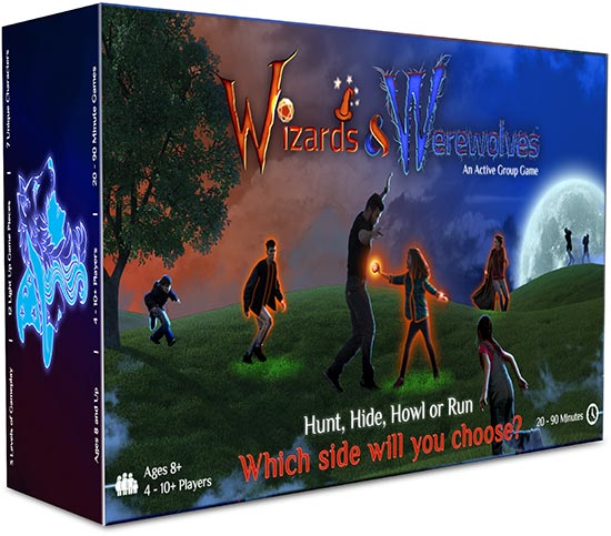 wizards and werewolves product box