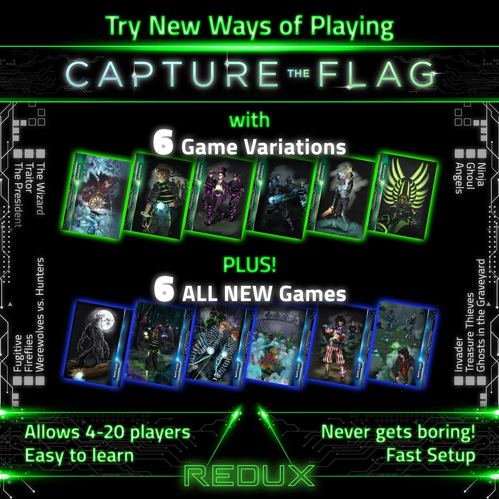 Capture The Flag Redux Light Up The Dark For An Outdoor Adventure