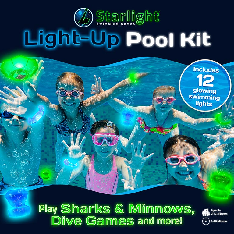 Starlight Swimming Games Box Cover