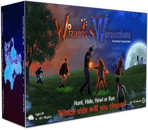 Wizards and Werewolves Game Box