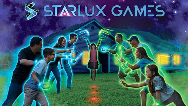 Starlux Games in 60 seconds, see four active group games that get your group glowing