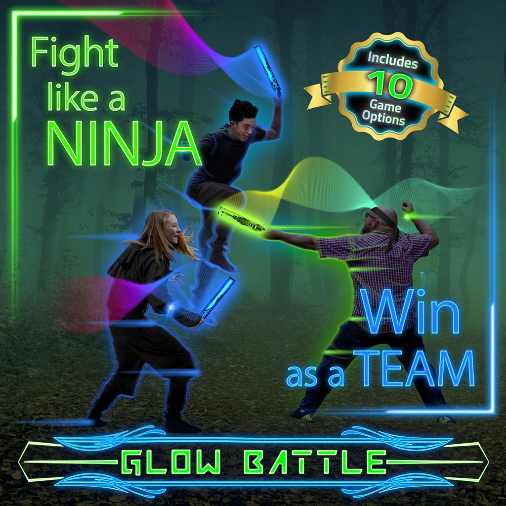 Glow Battle Game Box Cover