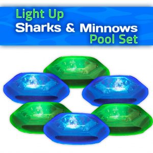 Sharks and minnows game pieces