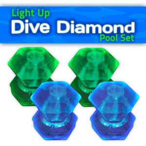 Dive diamons game pieces
