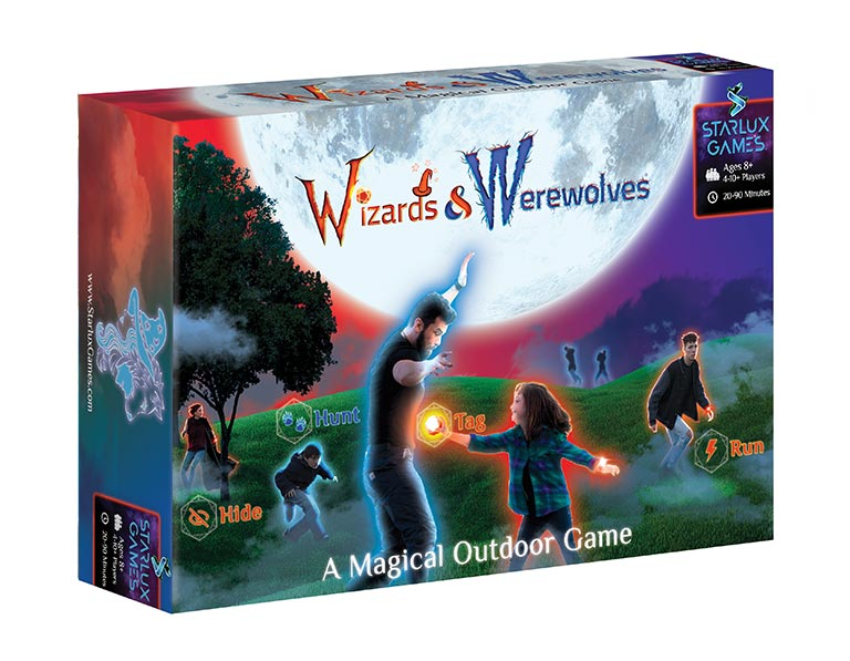 Wizards and Werewolves Game Box Cover