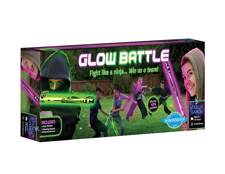 Glow Battle Ninja Game