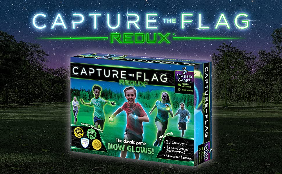 Capture the Flag Game Box Cover