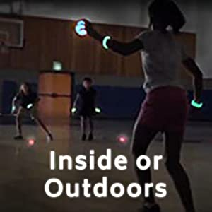 Play inside or outdoors
