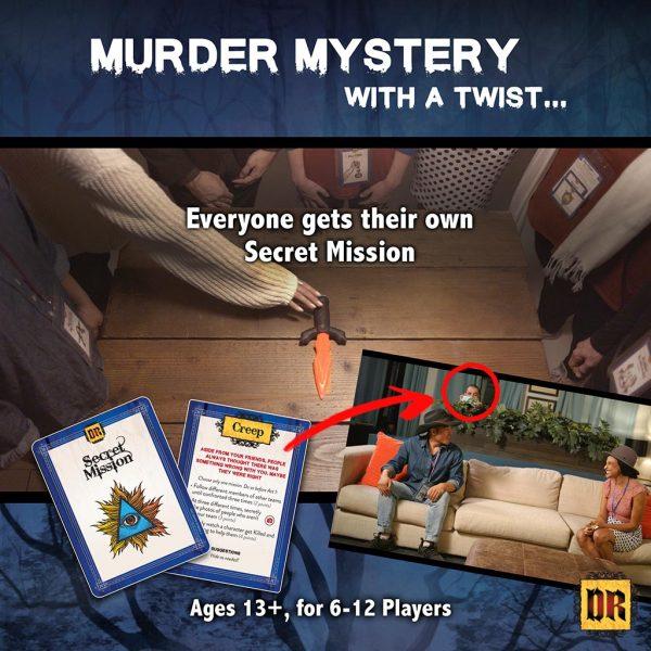 Darkridge Reunion murder mystery